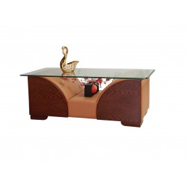 Century Center Table (AC) (Leather)
