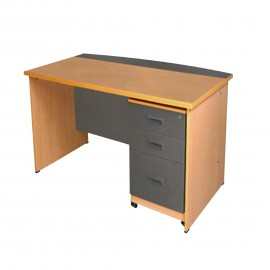 Sr. Executive Table with Drawer Unit