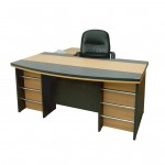 Sr. Executive Table with Drawer & without Side Rack