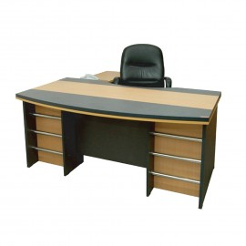 Sr. Executive Table with Drawer & without Side Rac..