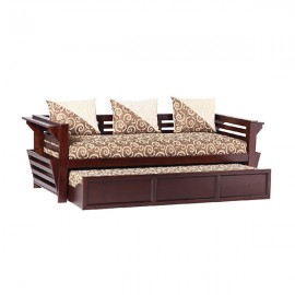 Decorous sofa cum bed